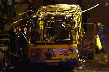 Թուրքական մամուլն ավտոբուսի պայթյունը որակավորել է որպես ահաբեկչություն