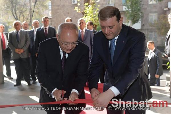 Մայրաքաղաքում բացվել է ՀՀ քննչական կոմիտեի նոր մասնաշենքը (լուսանկարներ)