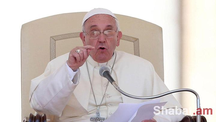 Ֆրանցիսկոս պապը ցավ և ափսոսանք է արտահայտել Անկարայի ահաբեկչության համար