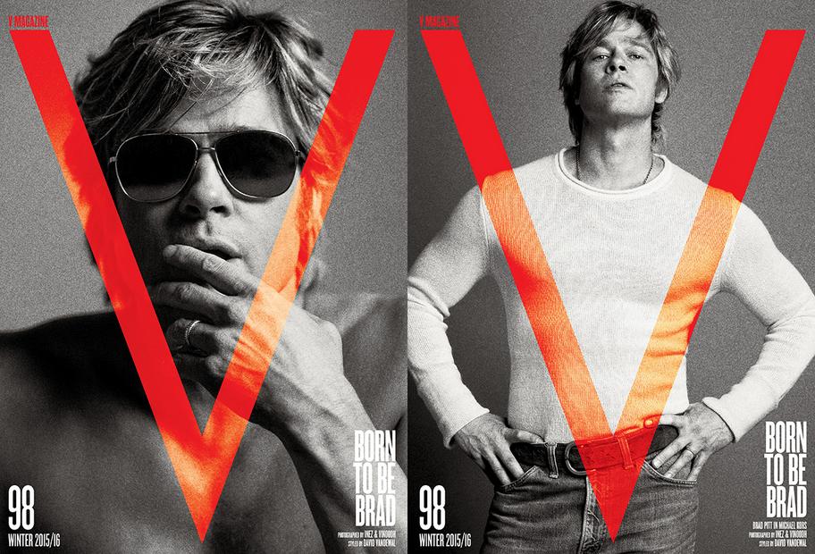 Գայթակղիչ Բրեդ Փիթը՝ Ռոբերտ Ռեդֆորդի կերպարով V Magazine էջերին (լուսանկարներ)