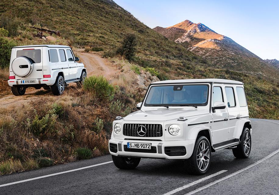 Mercedes-Benz-ը ներկայացրել է G-Class մեքենայի կատարելագործված տարբերակը (լուսանկարներ)
