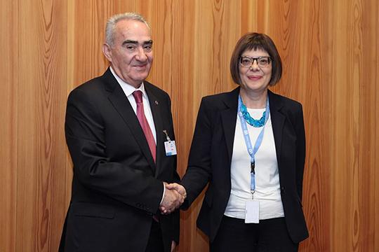 Գալուստ Սահակյանը Սերբիայի խորհրդարանի ղեկավարին առաջարկել է զարգացնել համագործակցությունը միջազգային կառույցներում