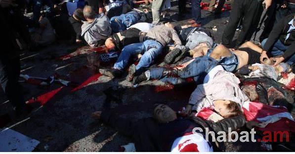 Հզոր պայթյուններ Անկարայում. կան տասնյակ զոհեր և վիրավորներ (լուսանկարներ, տեսանյութ)