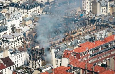 Փարիզի կենտրոնում գտնվող բարձրահարկ շենքերից մեկում հզոր պայթյուն է որոտացել