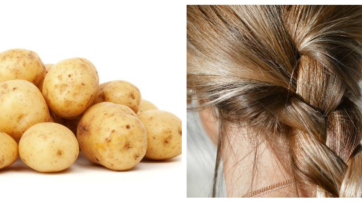 Ինչպես օգտագործել կարտոֆիլը մազերի համար