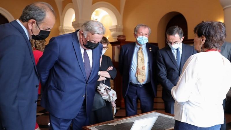 Ֆրանսիայի Սենատի նախագահի պատվիրակությունն այցելել է Մատենադարան