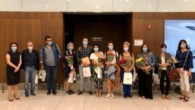 Ֆրանսիայից Հայաստան ժամանեց բժիշկների երկրորդ խումբը. նրանք կմիանան կորոնավիրուսի դեմ պայքարող հայ բուժաշխատողներին