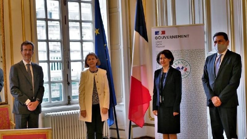 Ֆրանսիայում ՀՀ դեսպանը շնորհակալություն է հայտնել Ստրասբուրգի քաղաքային խորհրդին՝ պատերազմից տուժածներին տրամադրված օգնության համար