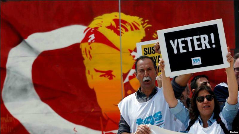 Թուրքիան մնացել է նույն դասարանում` մամուլի ազատության տեսանկյունից. Freedom House