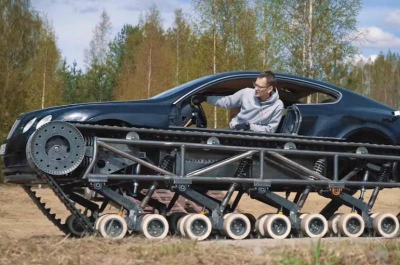 Ռուսները Bentley Continental GT-ն վերածել են լյուքս դասի «տանկի»