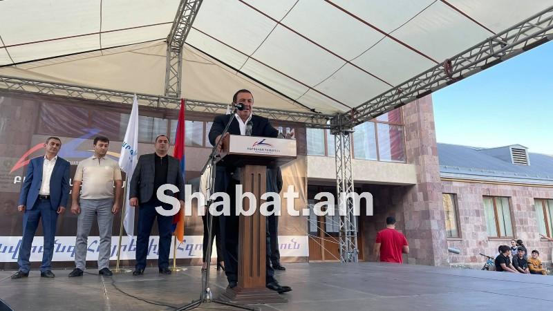 «Բարգավաճ Հայաստան» կուսակցության քարոզարշավը Նոր Հաճնում (ուղիղ միացում)