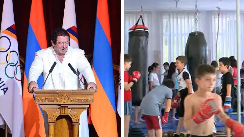 Գագիկ Ծառուկյանը մարզագույք է հատկացրել Նորք Մարաշի մանկապատանեկան մարզադպրոցին (տեսանյութ)