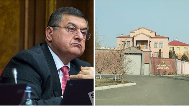 Տունս գոմ եմ անվանել, որովհետև կողքի տներն ապարանքներ են․ Գագիկ Ջհանգիրյանը ներողություն խնդրեց Իրաքի դեսպանատան աշխատակիցներից (տեսանյութ)