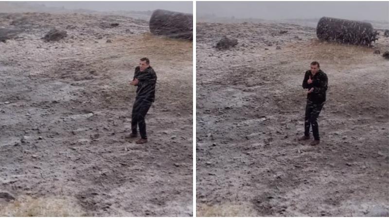 Արագածում դիմավորեցինք առաջին ձյունը. Գագիկ Սուրենյանը տեսանյութ է հրապարակել
