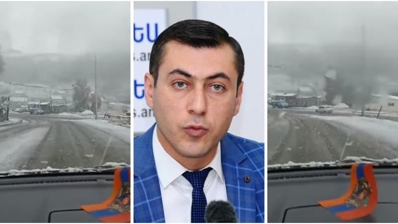 Հանրապետության լեռնային առանձին բնակավայրերում տեղում է առաջին ձյունը. Գագիկ Սուրենյանը տեսանյութ է հրապարակել