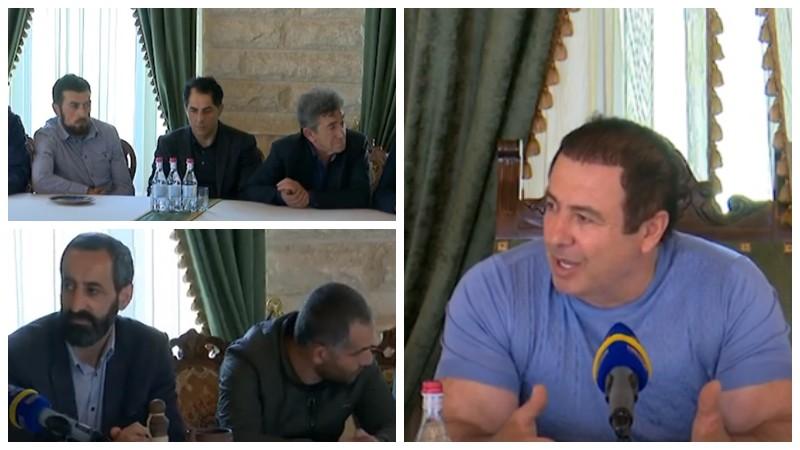 Գագիկ Ծառուկյանը հանդիպել է գյումրեցի արվեստագետների ու արհեստագործների հետ (տեսանյութ)