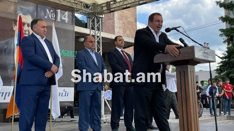«Բարգավաճ Հայաստան» կուսակցության  քարոզարշավը Գավառում. (ուղիղ)