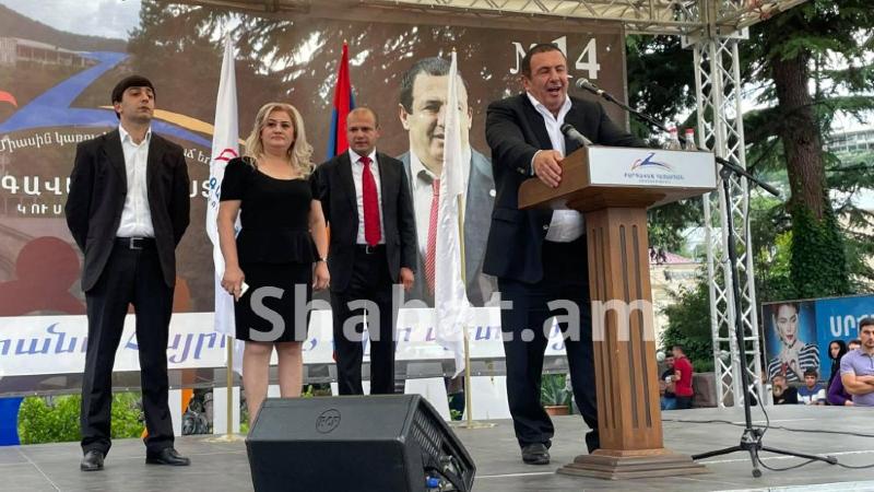 «Բարգավաճ Հայաստան» կուսակցության քարոզարշավը Տավուշի մարզում (ուղիղ միացում)