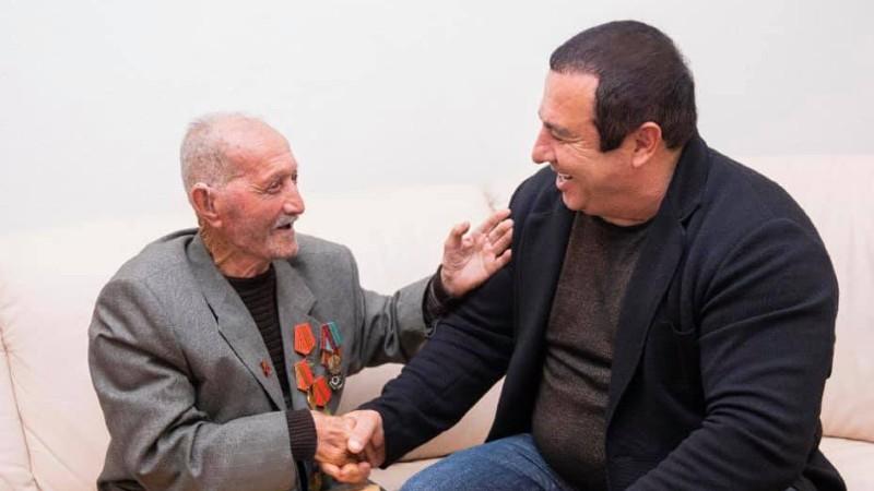 Սրտանց շնորհավորում եմ Հայրենական մեծ պատերազմի հայ վետերաններին, որոնց թիվը, ցավոք սրտի, տարեցտարի քչանում է. Գագիկ Ծառուկյան