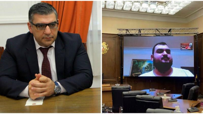 ՀՀ Ազգային ժողովը պատրաստ է հեռավար նիստերի և քննարկումների. Տիգրան Գալստյան (լուսանկարներ)