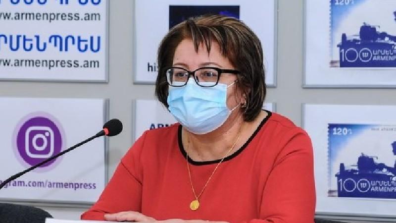Հայաստանի բնակչության ընդամենը 2 տոկոսն է պատվաստվել. Գայանե Սահակյան