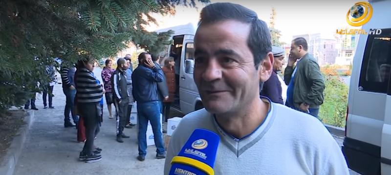 Գ.Ծառուկյանի շնորհիվ Գեղարքունիքի մարզի զինծառայողների ծնողները կրկին մեկնել են Արցախ