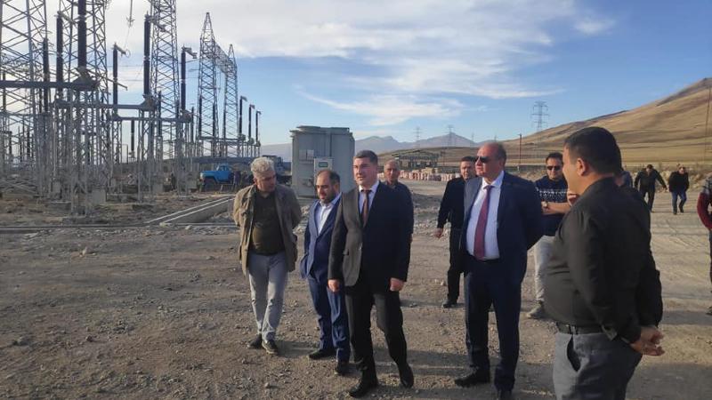 Գնել Սանոսյանը ծանոթացել է Իրան-Հայաստան երրորդ էլեկտրահաղորդման գծի և ենթակայանի շինարարության ընթացքին
