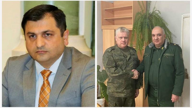 Դատախազի տեղակալը հանդիպել է  Արցախում տեղակայված ՌԴ խաղաղապահ զորակազմի հրամանատար, գեներալ-լեյտենանտ Ռուստամ Մուրադովի հետ․ Գոռ Աբրահամյան