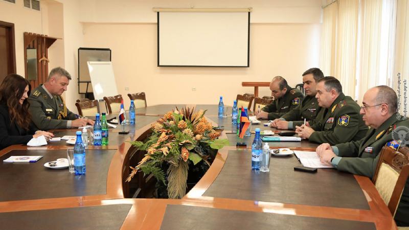 Արտակ Դավթյանն ընդունել է ՀՀ-ում Սերբիայի գործերի ժամանակավոր հավատարմատարին և ռազմական կցորդին