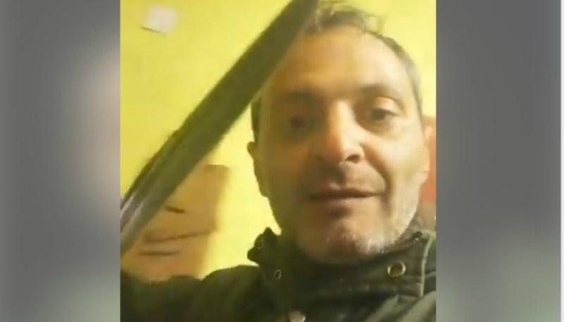 Դերասան Արտյոմ Կարապետյանին սպառնացած երթուղային տաքսու վարորդը հայտնաբերվել է