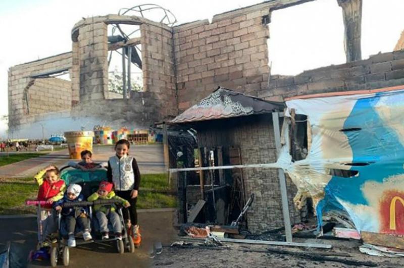 Վոլգոգրադում բնակվող հայ տղամարդն այրվող տնից հասցրել է փրկել կնոջն ու 5 երեխաներին, սակայն բազմազավակ ընտանիքը մնացել է առանց տան