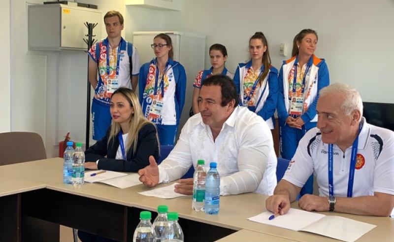 Գագիկ Ծառուկյանը հանդիպել է Եվրոպական խաղերի մասնակից հայ մարզիկների հետ (լուսանկարներ)