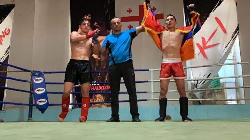 Արցախցի մարզիկը մուայթայի միջազգային առաջնությունում հաղթել է ադրբեջանցուն