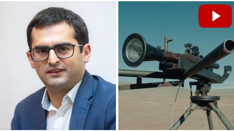 Հակոբ Արշակյանը ներկայացրել է հայկական արտադրության ձեռքի նռնականետի ՕԳ-7Վ մարտական կրակոցը (տեսանյութ)