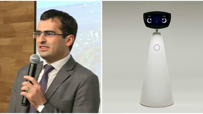 Հայկական Ռոբին ռոբոտը հայտնվել է Ֆորբսի ամսագրի ուշադրության կենտրոնում. ԲՏԱ նախարար