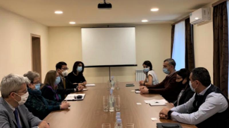 Դեսպան Լ․ Թրեյսին և ԵՄ պատվիրակության ղեկավար Ա․ Վիկտորինը հանդիպել են Կոռուպցիայի կանխարգելման հանձնաժողովի անդամներին