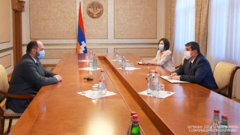 Արցախի նախագահն ընդունել է ՀՀ ԿԳՄՍ նախարարին․ քննարկվել են Հայաստանում և Արցախում կրթական բարեփոխումների հիմնական ուղղությունները