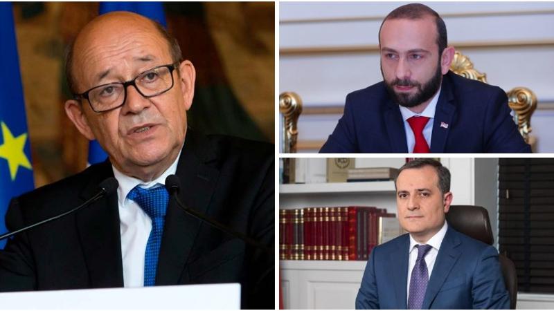 Ֆրանսիայի ԱԳ նախարարը դրական է որակել Միրզոյան-Բայրամով հանդիպումը