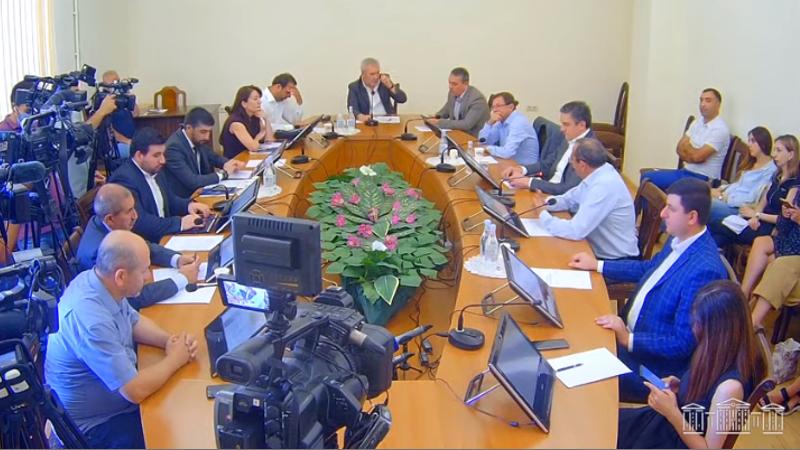 ԱԺ պաշտպանության և անվտանգության հարցերի մշտական հանձնաժողովի նիստը (ուղիղ միացում)