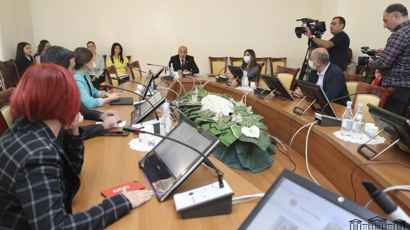 Պետաիրավական հարցերի հանձնաժողովը հետաձգեց «Քաղաքացիության մասին» օրինագծի քննարկումը (տեսանյութ)