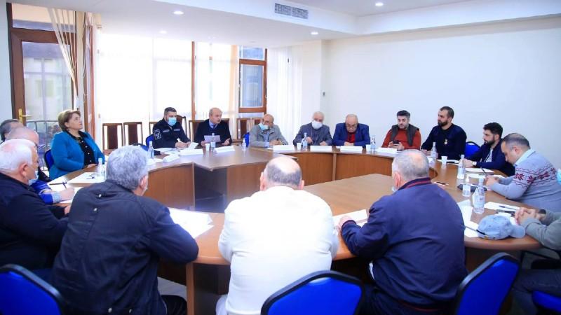 Տեղի է ունեցել Հանրային խորհրդի նիստ՝ նվիրված արտակարգ իրավիճակներում քաղաքացիական պաշտպանության խնդիրներին