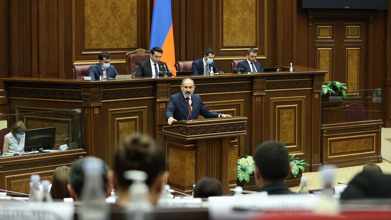 Ազգային ժողովում մեկնարկել է ԱԺ-Կառավարություն հարցուպատասխանը (ուղիղ միացում)