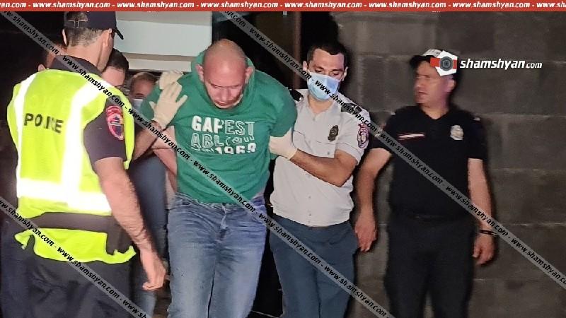 ՌԴ քաղաքացին Բաղրամյան պողոտայում գործող բանկի պատուհանը կոտրել և մտել է ներս