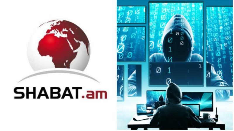 Shabat.am լրատվական կայքը հարձակման է ենթարկվել
