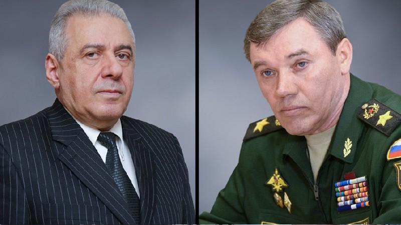 Վաղարշակ Հարությունյանն ու Վալերի Գերասիմովը քննարկել են հայ-ռուսական ռազմական համագործակցությանն առնչվող հարցեր