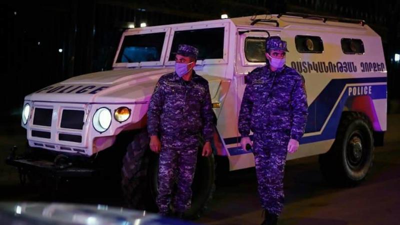 Ոստիկանության հատուկ ուժերը Երևանի փողոցներում են