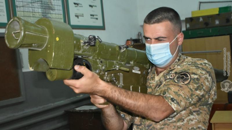 4-րդ զորամիավորման հակաօդային պաշտպանության ստորաբաժանումների հրամանատարների մասնակցությամբ անցկացվել են հավաք-պարապմունքներ