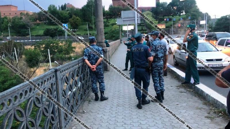 Կանխվել են 23 եւ 42 տարեկան քաղաքացիների ինքնասպանության փորձերը Հաղթանակի կամրջից