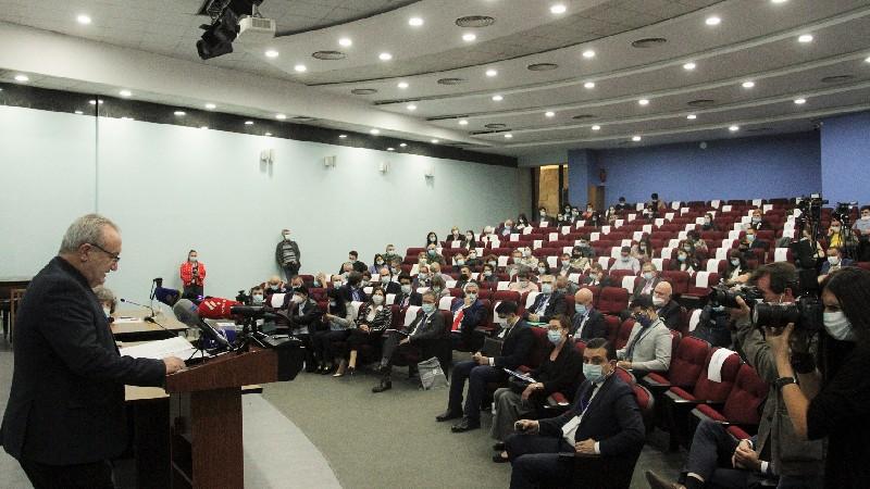Մեկնարկել է հայ-ֆրանսիական առաջին գիտաբժշկական համաժողովը. ԿԳՄՍՆ