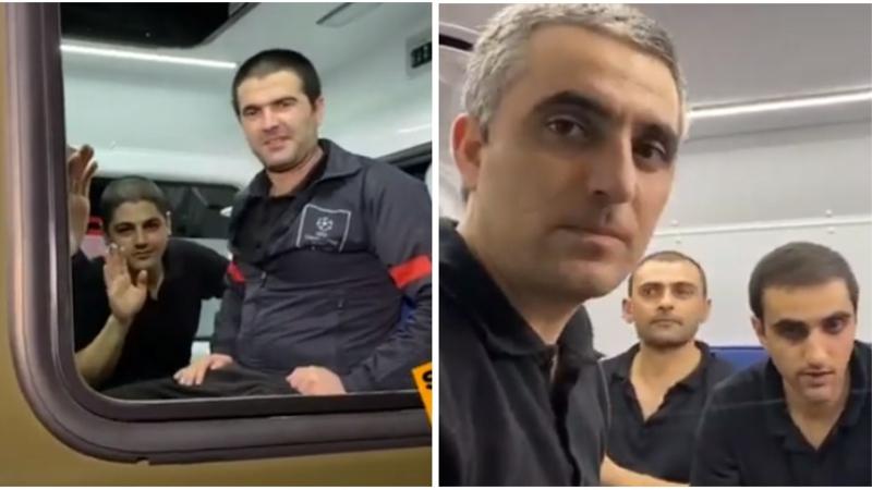 15 հայ գերի Ադրբեջանից վերադարձավ Հայաստան (տեսանյութ)